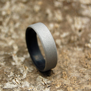 Mens Wedding Rings - Custom Mens Rings - Black Rings - Wood Rings | CONQUER KORE