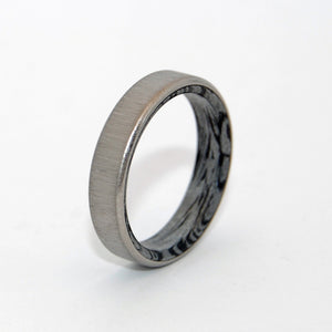 Cornerstone | Titanium MokumeGane Wedding Ring