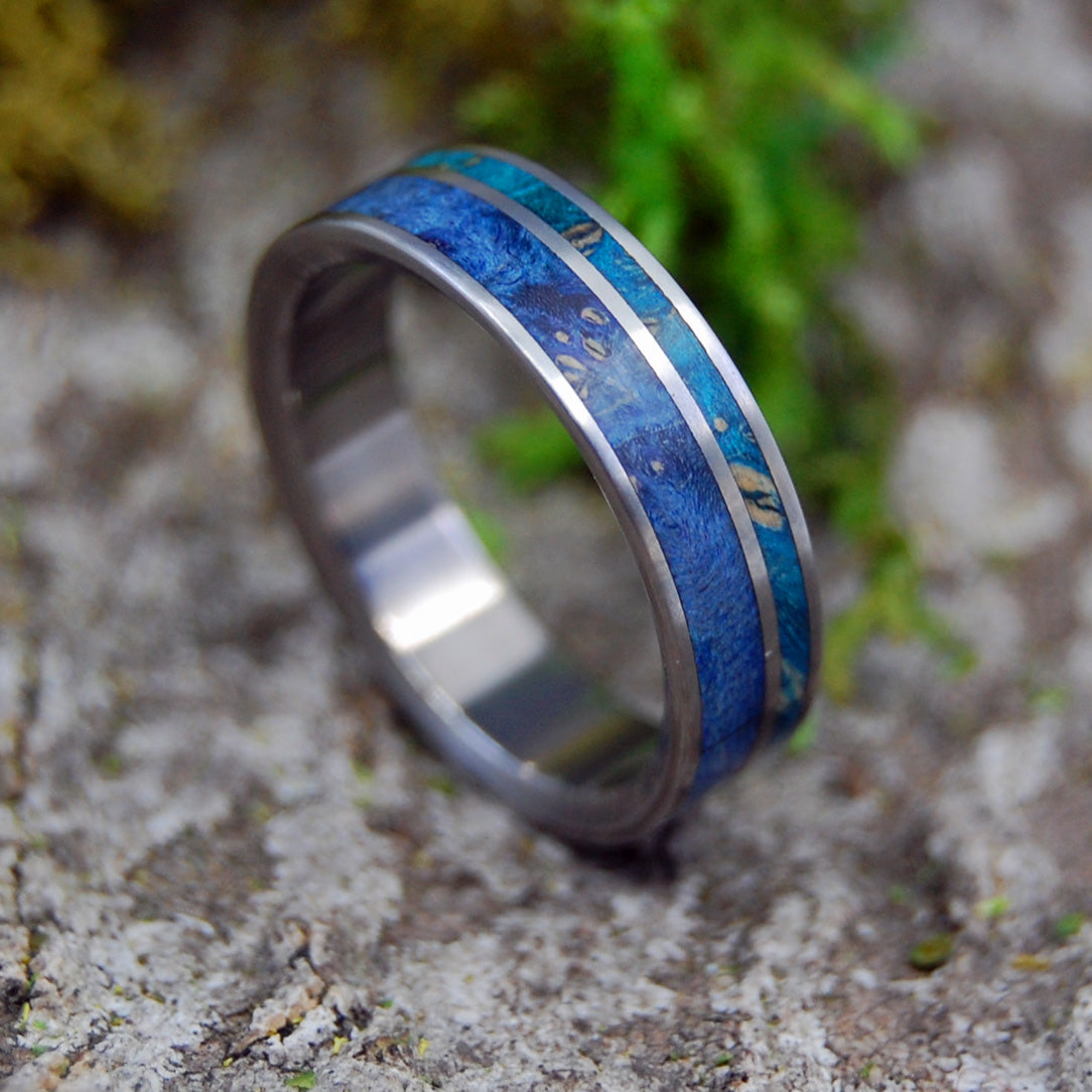 Wooden Wedding Rings - Womens Rings | BLUE BOX ELDER BLISS