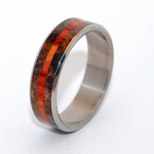 How Quickly I Fell For You | Handcrafted Wooden Wedding Rings