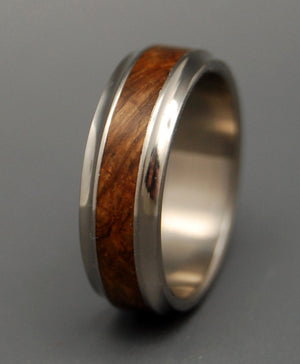 Windham | Wooden Wedding Ring - Minter and Richter Designs