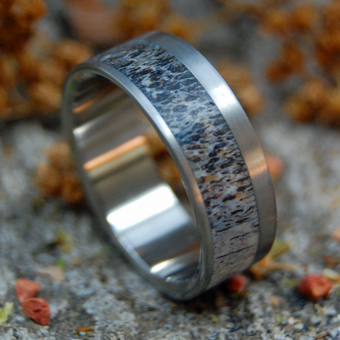 ELK OF BANFF | Elk Antler & Titanium Wedding Rings - Minter and Richter Designs