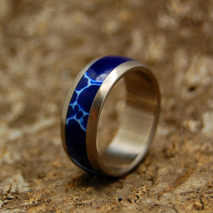 Every Drop of Cobalt | Handcrafted Stone Wedding Ring - Minter and Richter Designs