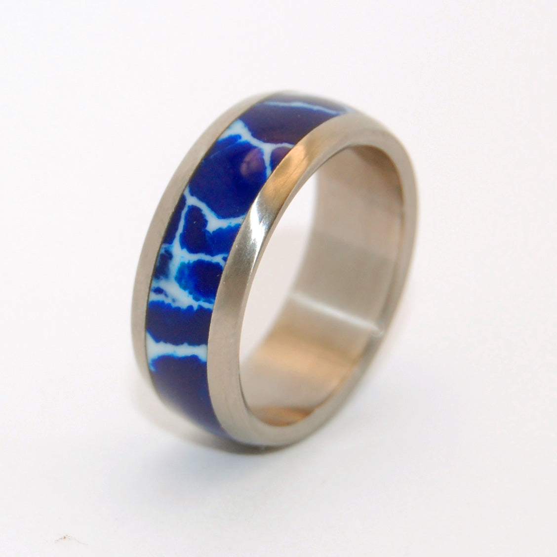 Every Drop of Cobalt | Handcrafted Stone Wedding Ring