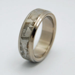 FALLING STAR | Meteorite Rings Unique Wedding Rings for Men & Women - Minter and Richter Designs