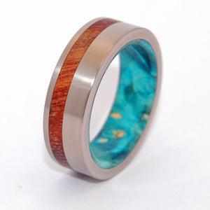 Plus Loin Que Les Etoiles - Further than the Stars | Wooden Wedding Ring