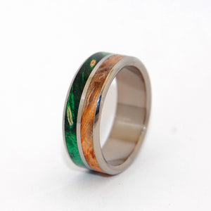 Men's Wooden Wedding Rings - Wooden Wedding Rings | THE GIVING TREE - Minter and Richter Designs