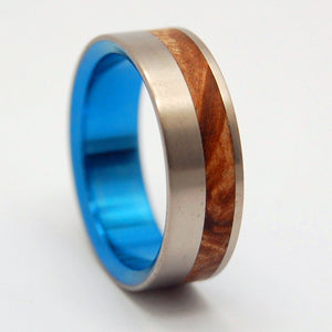 BLUE FAUN | Box Elder Wood Wedding Rings - Unique Wedding Rings - Minter and Richter Designs