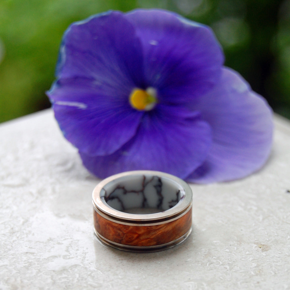 Marriage Material | Men's Titanium Wedding Ring - Minter and Richter Designs