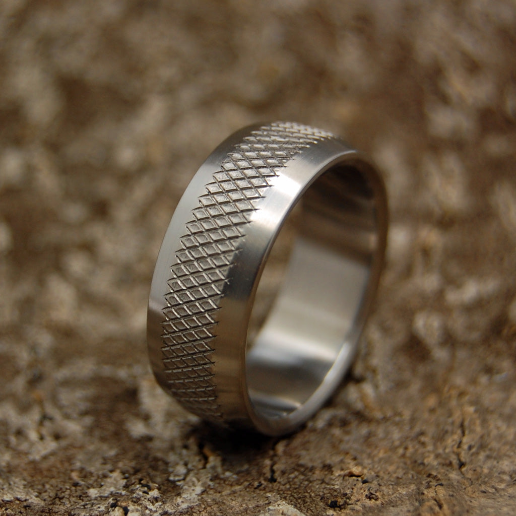 40 Mike Mike | Unique Men's Military Grade Wedding Rings