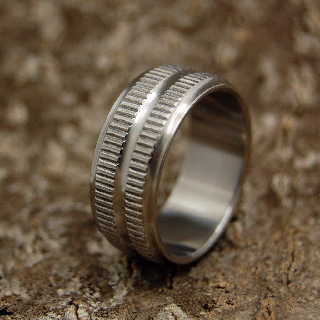 Tank | Unique Men's Military Grade Wedding Rings
