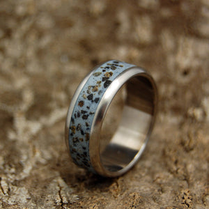 Mens Wedding Rings - Custom Mens Rings - Memorial Rings | GRAY DAWN AT IWO JIMA