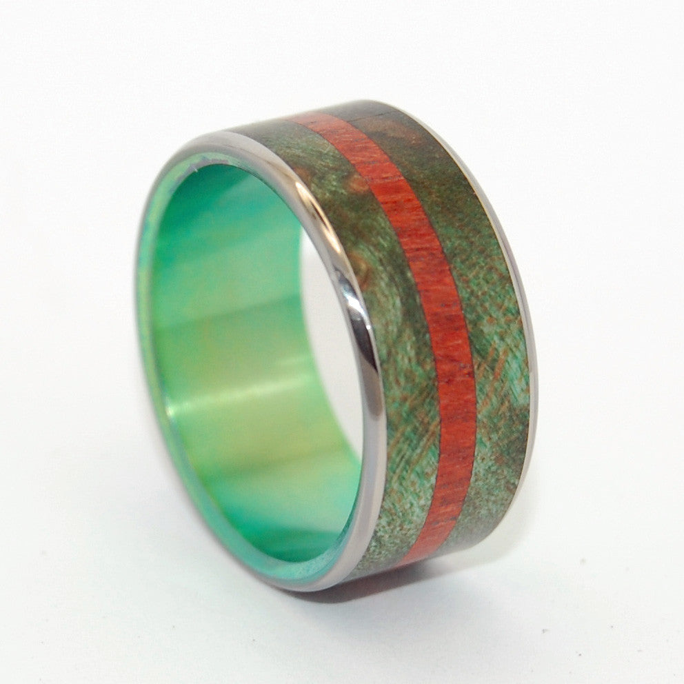 Through The Marsh | Wooden Wedding Ring - Minter and Richter Designs