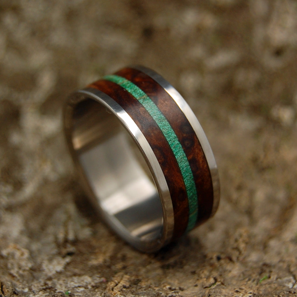 Mens Wedding Rings - Custom Mens Rings - Wooden Rings | FOREST HILLS