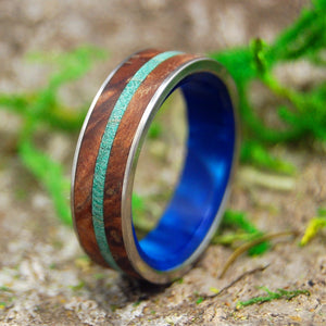 Men's Wedding Ring - Wooden Wedding Ring | MAPLE AND OAK