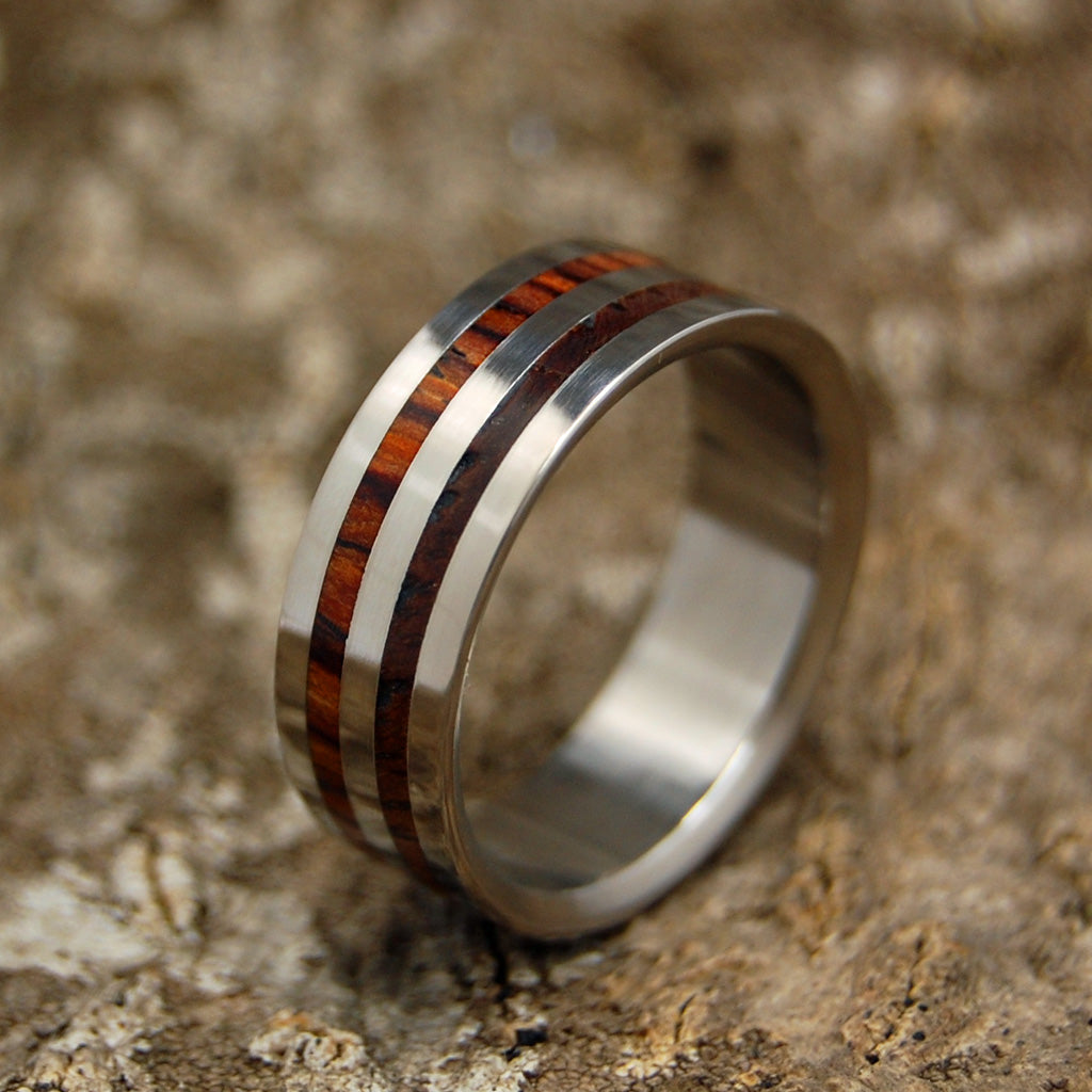 Men's Wedding Rings - Wooden Wedding Rings | HARVEST
