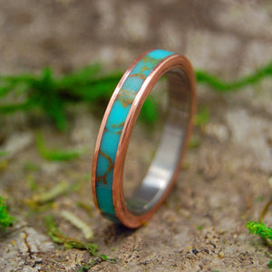 Womens Titanium Wedding Rings | HER SAMANA
