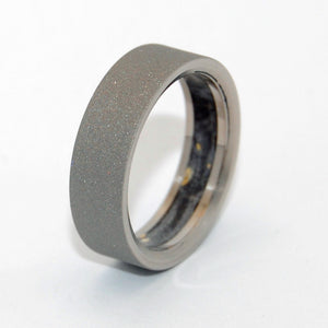 Humble Majesty Black Box Elder | Titanium Wedding Rings