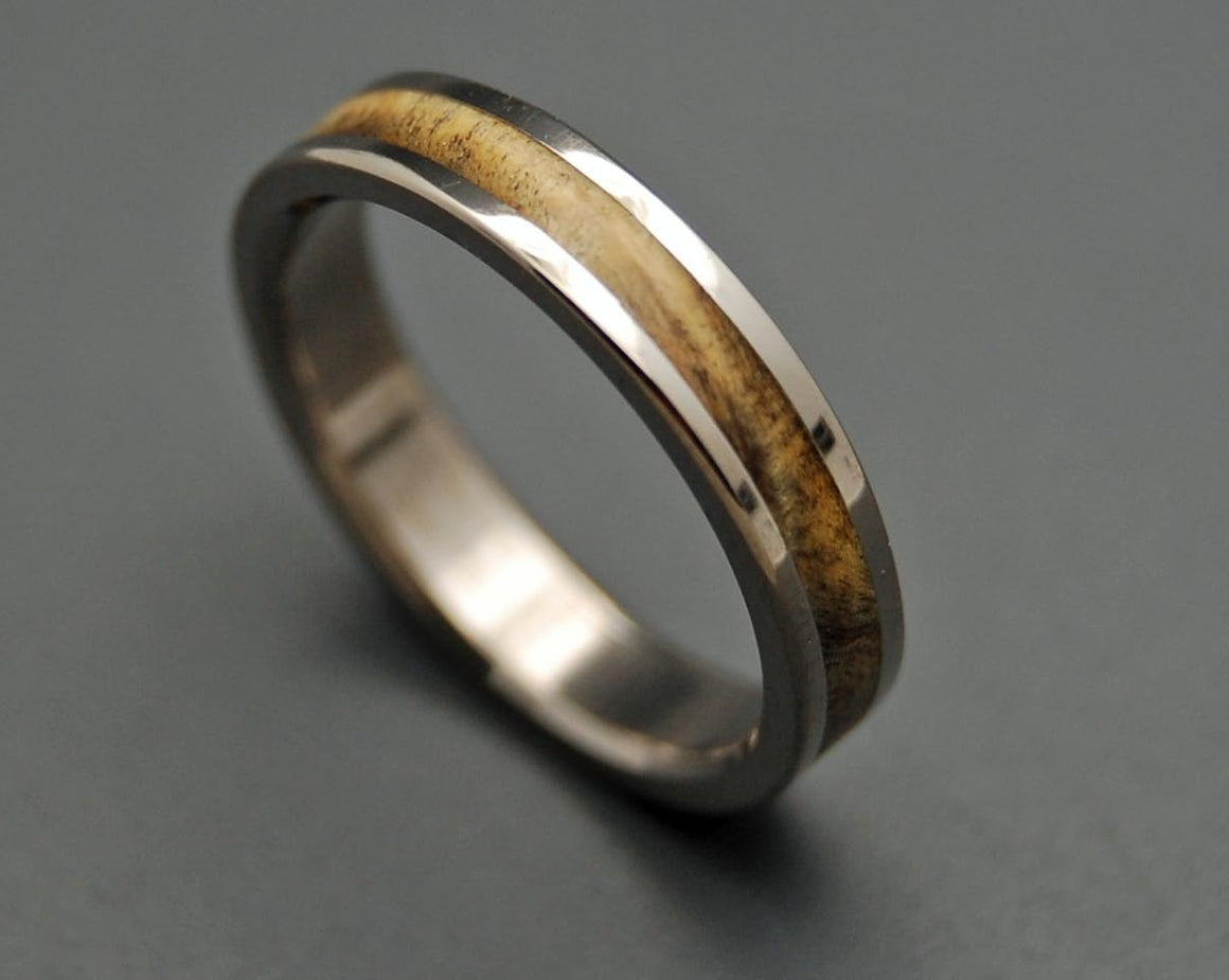 RUNAWAY | California Buckeye Wood - Unique Women's Wedding Rings - Minter and Richter Designs