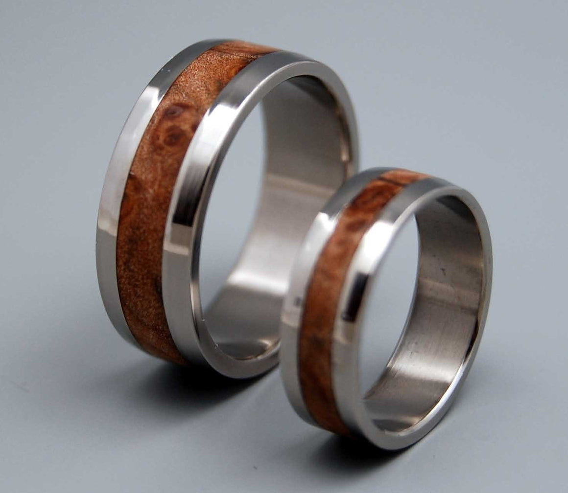 Montpelier | Matching Wooden Wedding Rings