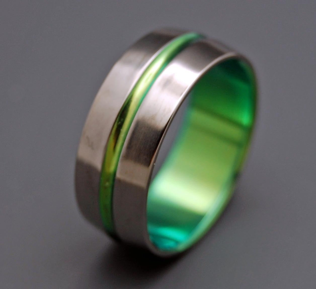 signature band rings fullxfull minter richter products green il titanium unique wedding