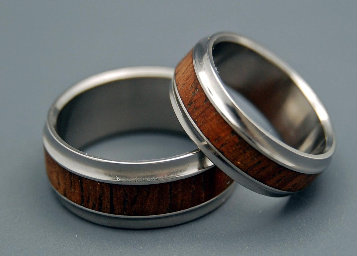 koa wood rings