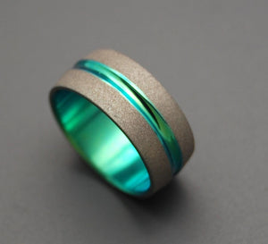 OFFICER K - Blade Runner 2049 Series | Titanium Wedding Rings - Minter and Richter Designs