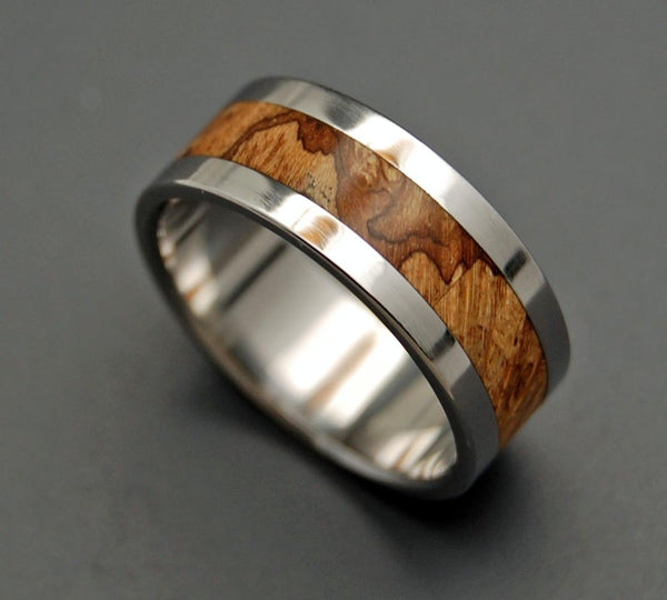 Wooden Wedding Rings - For The Love Of