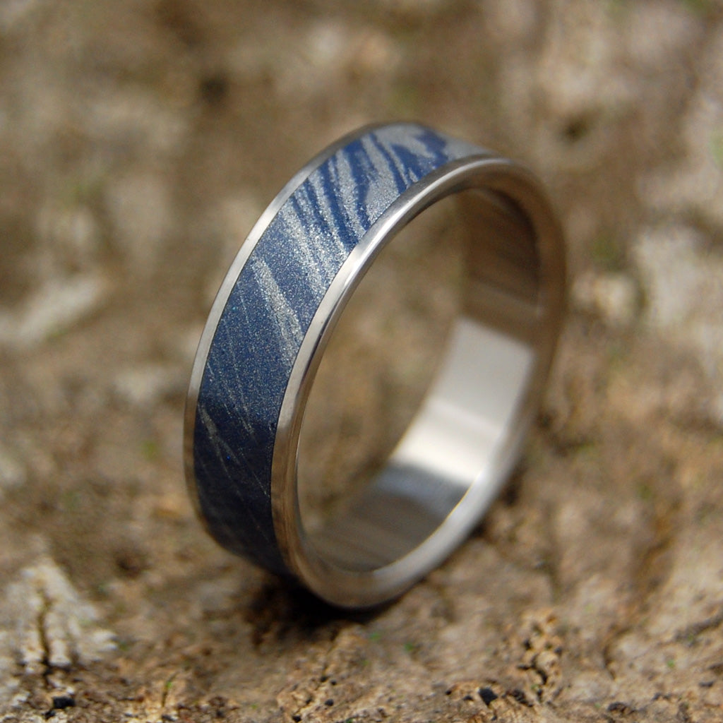 IN ME | M3 & Titanium Wedding Ring - Unique Wedding Rings - Minter and Richter Designs