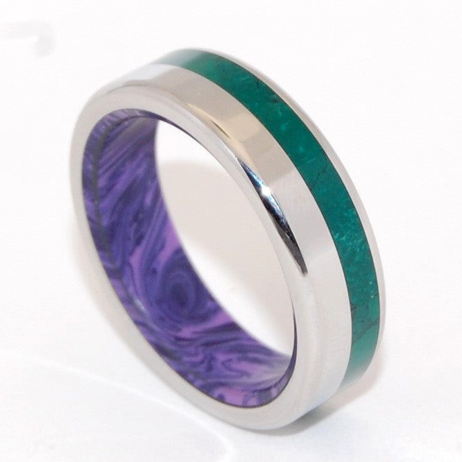 Green Mountain Majesty | Stone Wedding Ring - Minter and Richter Designs