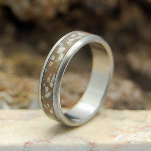 Men's Concrete Wedding Rings - Rings of the Promised Land | STONES OF ISRAEL