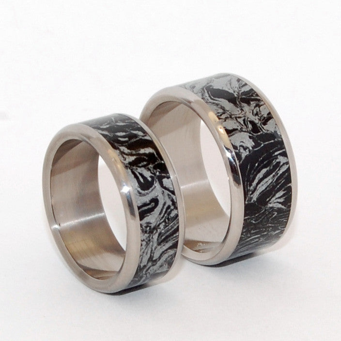 Katana | M3 and Titanium Wedding Rings
