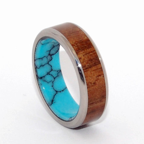 Let There Be a Firmament | Arizona Turquoise Wedding Ring