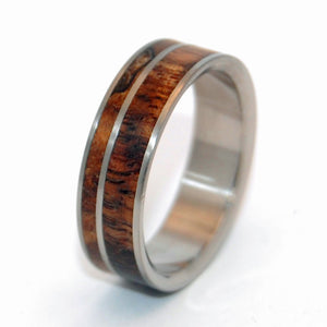 Come Together | Wooden Wedding Ring