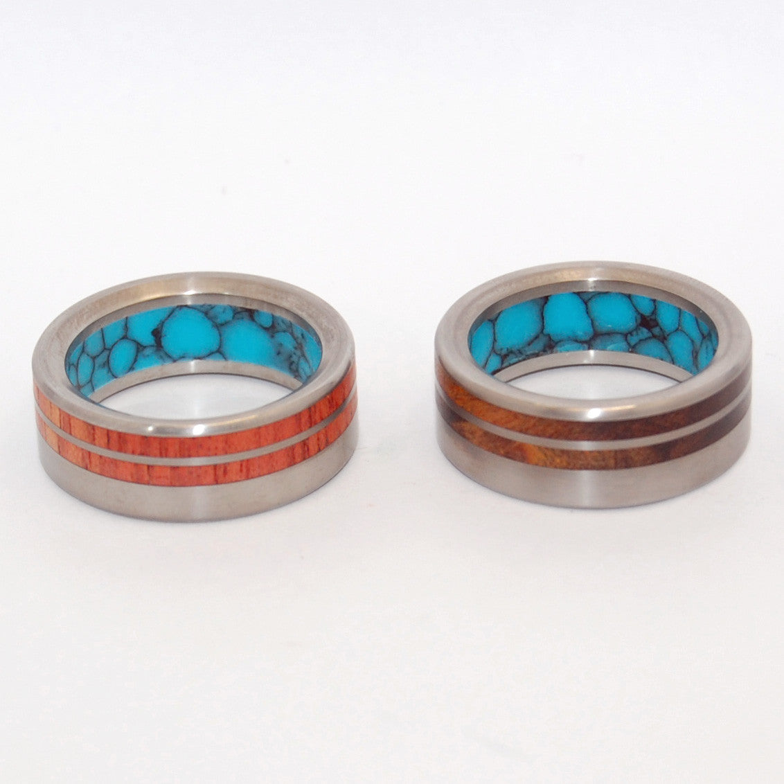 Meant To Be Together | Titanium Wedding Rings - Minter and Richter Designs