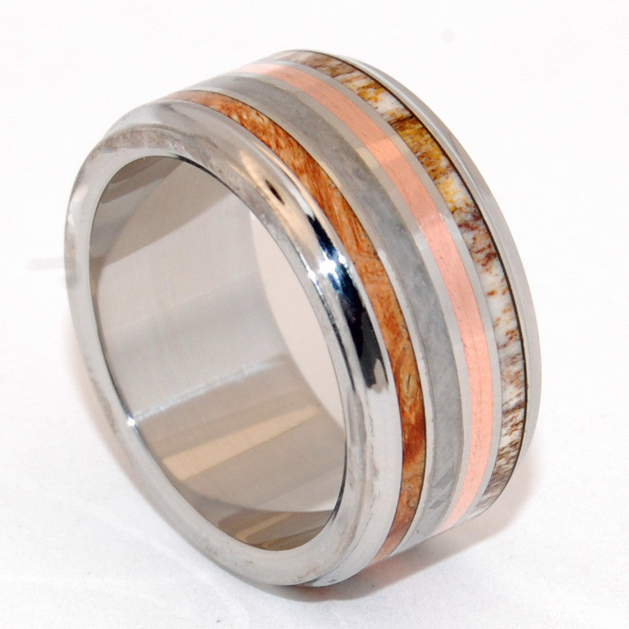 minter & richter - titanium rings | unique wedding rings