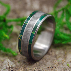 Mens Wedding Rings - Custom Mens Rings - Meteorite Rings | KING OF THE UNIVERSE