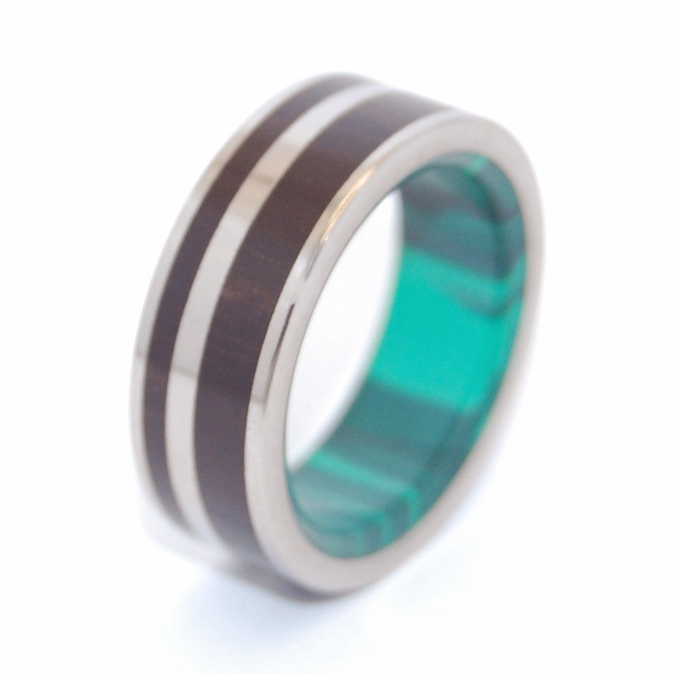 Mighty Man of Mine | Men's Titanium Wedding Ring - Minter and Richter Designs