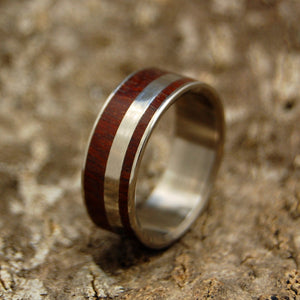 Mens Wedding Rings - Custom Mens Rings - Wood Rings | MORNING OF CREATION - Minter and Richter Designs