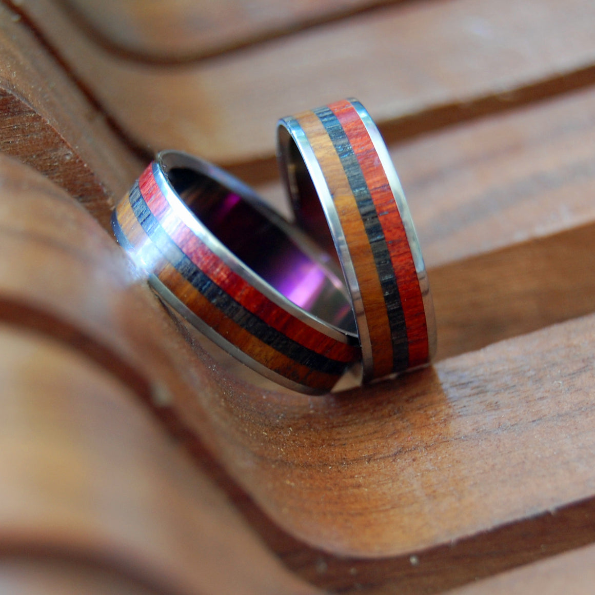 Ancient Wood Rings | Handmade Wedding Rings | Old Soul - Minter and Richter Designs