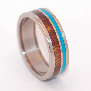 POP-A-TOP WOODED COVE | Beer Bottle Opening Wedding Ring - men's rings - Minter and Richter Designs