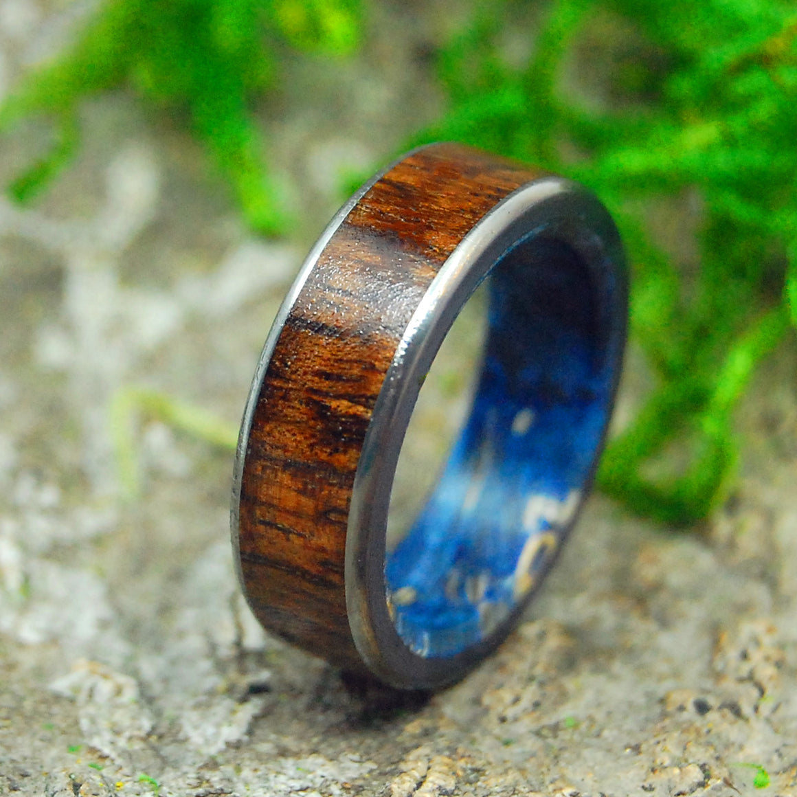 Mens Wooden Wedding Ring, Womens Wedding ring | POSEIDON'S CONIFER