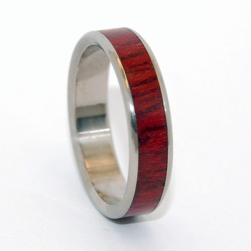 Your Brave Heart | Wooden Wedding Ring - Minter and Richter Designs