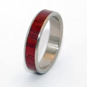 Your Brave Heart | Wooden Wedding Ring