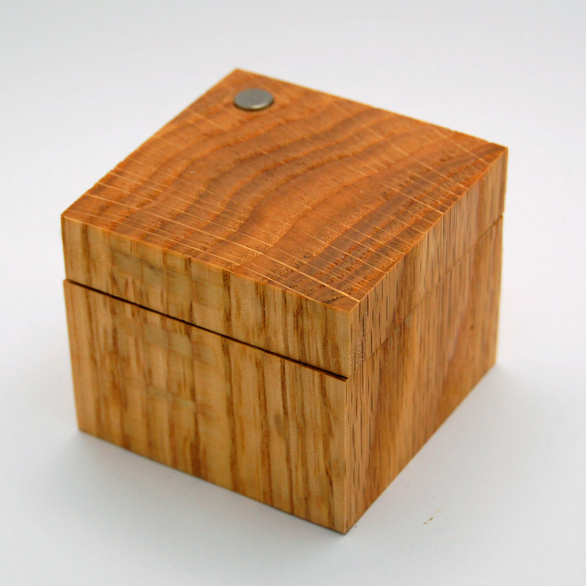 Red Oak Ring Box
