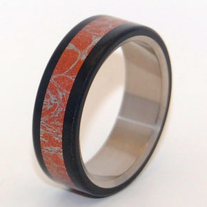 AKITA | M3 & Titanium Wedding Ring - Minter and Richter Designs