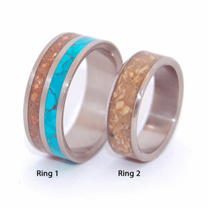 THE RIVER JORDAN | Ground Stones of Israel - Unique Wedding Rings - Minter and Richter Designs