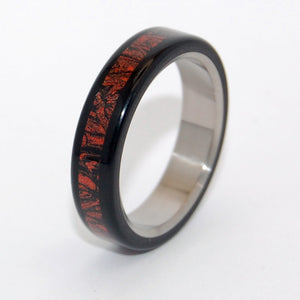 Samurai | M3 and Titanium Wedding Band - Minter and Richter Designs