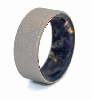 Sandblasted Kore | Wooden Wedding Ring