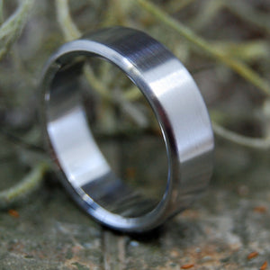 SATIN STEEL | Steel Wedding Ring - Minter and Richter Designs